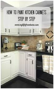 painting oak kitchen cabinets whiteTips  Tricks for Painting Oak Cabinets  Painted oak cabinets