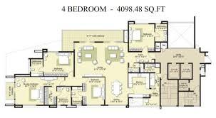 Embassy Oasis 4 Bedroom Floor Plans. Embassy Oasis Plan