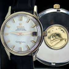17 best images about omega constellation vintage 1966s vintage omega constellation 561 automatic date gold cap steel mens watch
