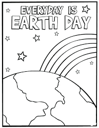 Earth Day Coloring Sheets Free Pages Printable Worksheets Earths