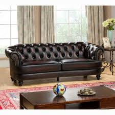 images of living room furniture. Moore Hand Rubbed Tufted Brown Chesterfield Top Grain Leather Sofa Images Of Living Room Furniture
