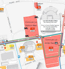 Stadium West And Lot 44 Penn State University