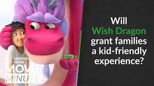Will Wish Dragon grant families a kid-friendly experience? | Common Sense  Movie Minute - YouTube
