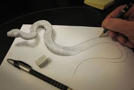 Sketching 3d 33 Of The Best 3d Pencil Drawings Bored Panda
