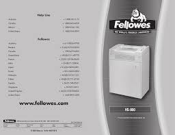 Fellowes Ps 67cs Shredder Red Light Fellowes Hs 800 Users Manual Manualzz Com