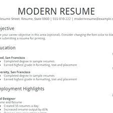Google Docs Resume Template Free Templates Modern Design Curriculum