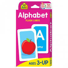 alphabet picture cards alphabet flash cards help preschoolers learn abcs school zone