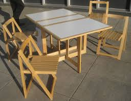 Collapsible Kitchen Table Try And Attractive Foldable Dining Table Home Design