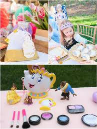 Belle Birthday Decorations A Beauty The Beast Inspired Birthday Party Party Ideas Party 80