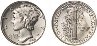 The 1942 1 D Overdate Is One Of The Highest Rated Mercury Dimes