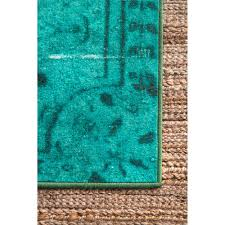 nuLOOM Vintage Inspired Overdyed Rug - Free Shipping Today - Overstock.com  - 14973879