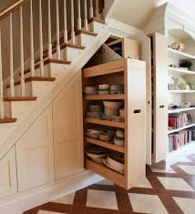 Storage Space Under Stairs - Home Design