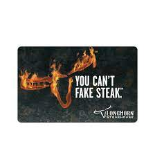 4.9 out of 5 stars 1,677. 25 Darden Longhorn Steakhouse Gift Card Bjs Wholesale Club