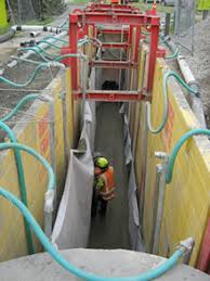 Image result for Using a Slide Rail Trench Box for Safe Excavation