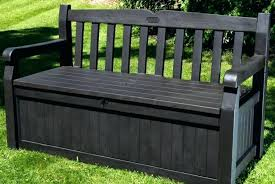 small outside storage bench seats outdoor towel storage black garden box cushion resin small outside cushions g