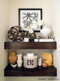 What To Put On Floating Shelves Beauteous Ideas For Floating Shelves Floating Shelf Styles