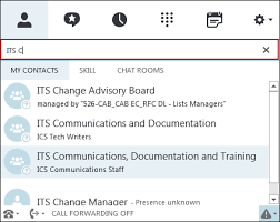 Organize Skype For Business Lync Contacts By Using Gal Groups