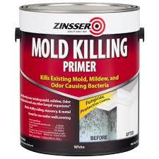 Black Mold In Kitchen Zinsser 1 Gal Mold Killing Primer Case Of 2 276049 The Home Depot