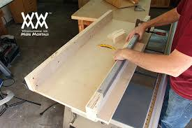 table saw sled plans crosscut sled table saw sled build