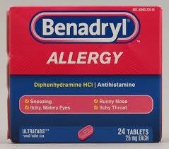 Benadryl Allergy UltraTabs™ -- 25 mg - 24 Tablets | Kroger Ship