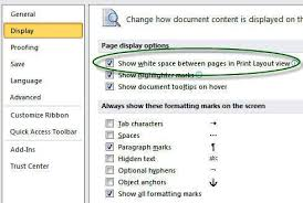 Sections Headers And Footers Page Numbers Margins