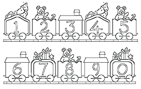 Coloring Pages Numbers 1 10 Arcadexme
