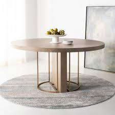 Circle Table Mayla Round Dining Table Safavieh