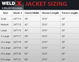 Weldx Jacket Miller Weldx Welding Jacket Arc Zone Com Mil