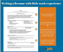 No Experience Resume Adorable How To Write The Perfect Resume With Little To No Experience