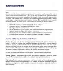 Report Business Business Report Format Structuring A Business Report 2019 01 12