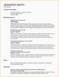 Entry Level Resume Template Salumguilherme