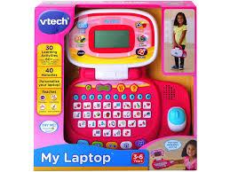 Vtech VTech Pre-School My Laptop - Pink 155453 - Toys from Toytown UK