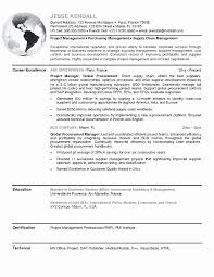 Emergency Management Consultant Sample Resume Resume Samples For Supply Chain Management New Emergency Management 17