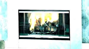 fireplace glass door replacement new superior doors or play installation gas with blower fireplac