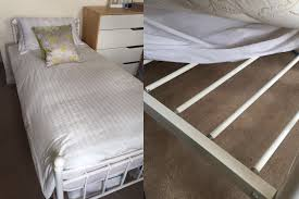 gap between mattress and bed frame. Brilliant And Metal Bed Frame And Slats And Gap Between Mattress Bed Frame O
