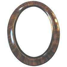 antique wood picture frames. Oval Wooden Picture Frames Large Antique Wood Frame Tiger Stripe  Convex Bubble Glass X Antique Wood Picture Frames I