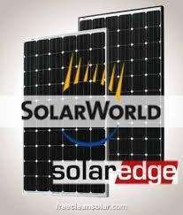 kw pv sunkit solarworld mono solaredge inverters power 6 7kw pv sunkit solarworld 280 mono solaredge inverters power optimizers rooftop mounting
