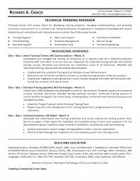 Trainer Job Description Resume Trainer Job Description Resume Corporate Template Examples Technical 10