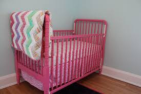 pink baby furniture painting a baby crib my life in transition how i painted our