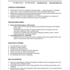 Realtor Resume Sample real estate agent resume examples real estate salesperson resume 71