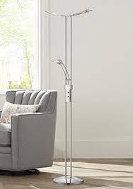in floor lighting fixtures. Possini Euro Design Vicina Chrome LED Torchiere Floor Lamp In Lighting Fixtures L