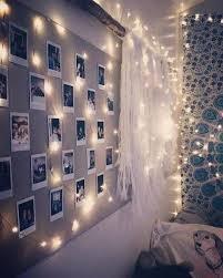 fairy lights in 2020 teenage room