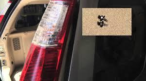 Crv Brake Light Replacement Honda Cr V Tail Light Bulb Replacement Easy 2 Minute Video