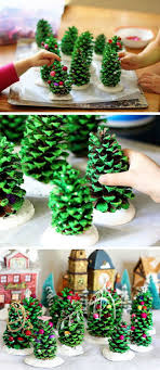 Pine Cone Christmas Decorations Best 25 Pine Cone Crafts Ideas On Pinterest Scandinavian