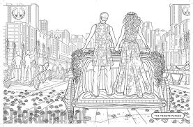 Small Picture Hunger Games coloring book Exclusive first look