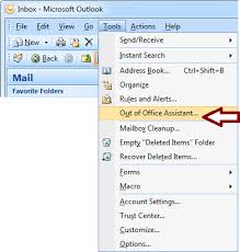 photos of office. On The Tools Menu, Click Out Of Office Assistant. Photos
