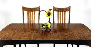 solid wood dining tabletops