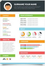 Delightful Design Visual Resume Templates Visual Resume Template