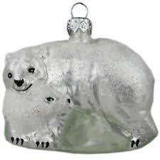 Details Zu Glasfigur Glastier Glas Figur Tier Eisbär Christbaumschmuck Weihnachtsschmuck