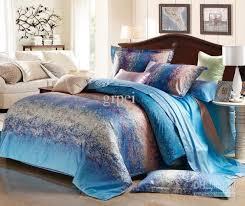 fancy grey satin comforter blue stripe bedding set king size queen comforters sets duvet cover quilt bed linen sheet bedspread bedsheet striped 145 76